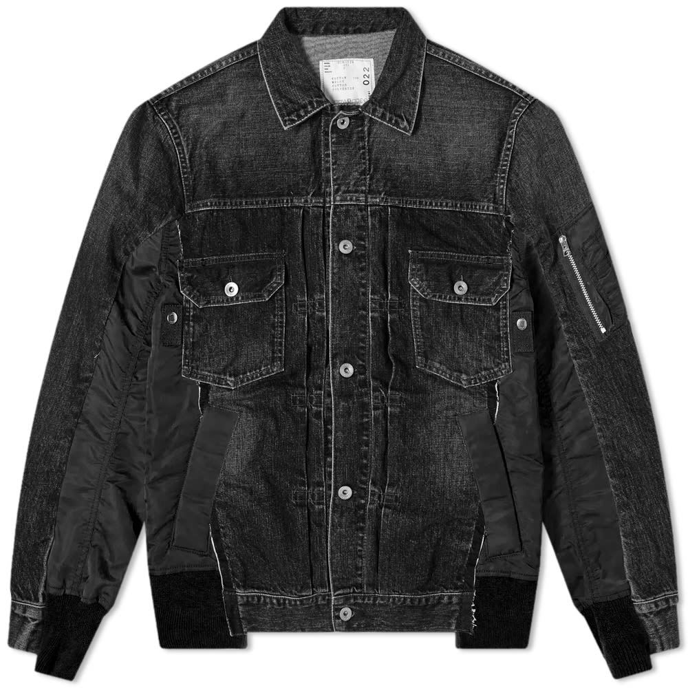 Sacai Denim MA-1 Jacket