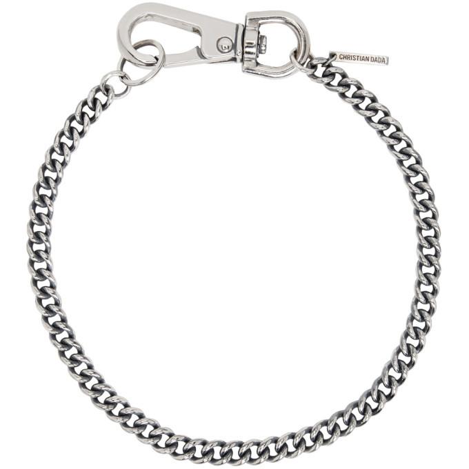 Photo: Christian Dada Silver Big Snap Hook Necklace