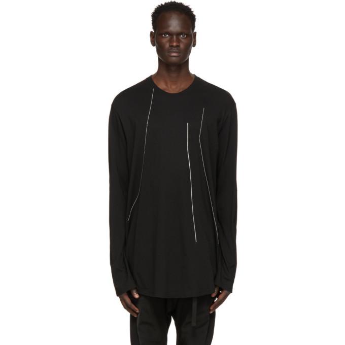Photo: Julius Black Embroidered Long Sleeve T-Shirt