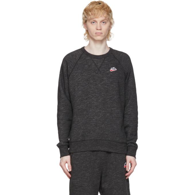 Photo: Nike Black Heritage Crew Sweatshirt