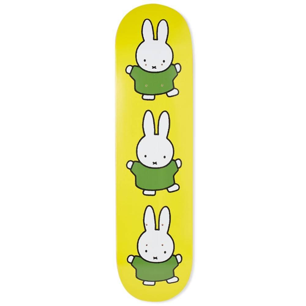 "Photo: Pop Trading Company Miffy Dance 8.1"" Skate Deck"