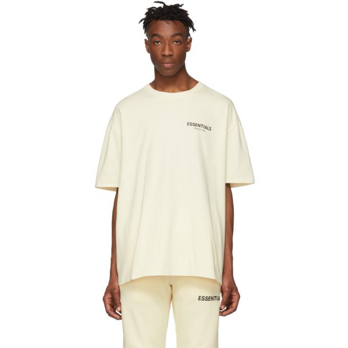 Photo: Essentials Off-White Logo T-Shirt
