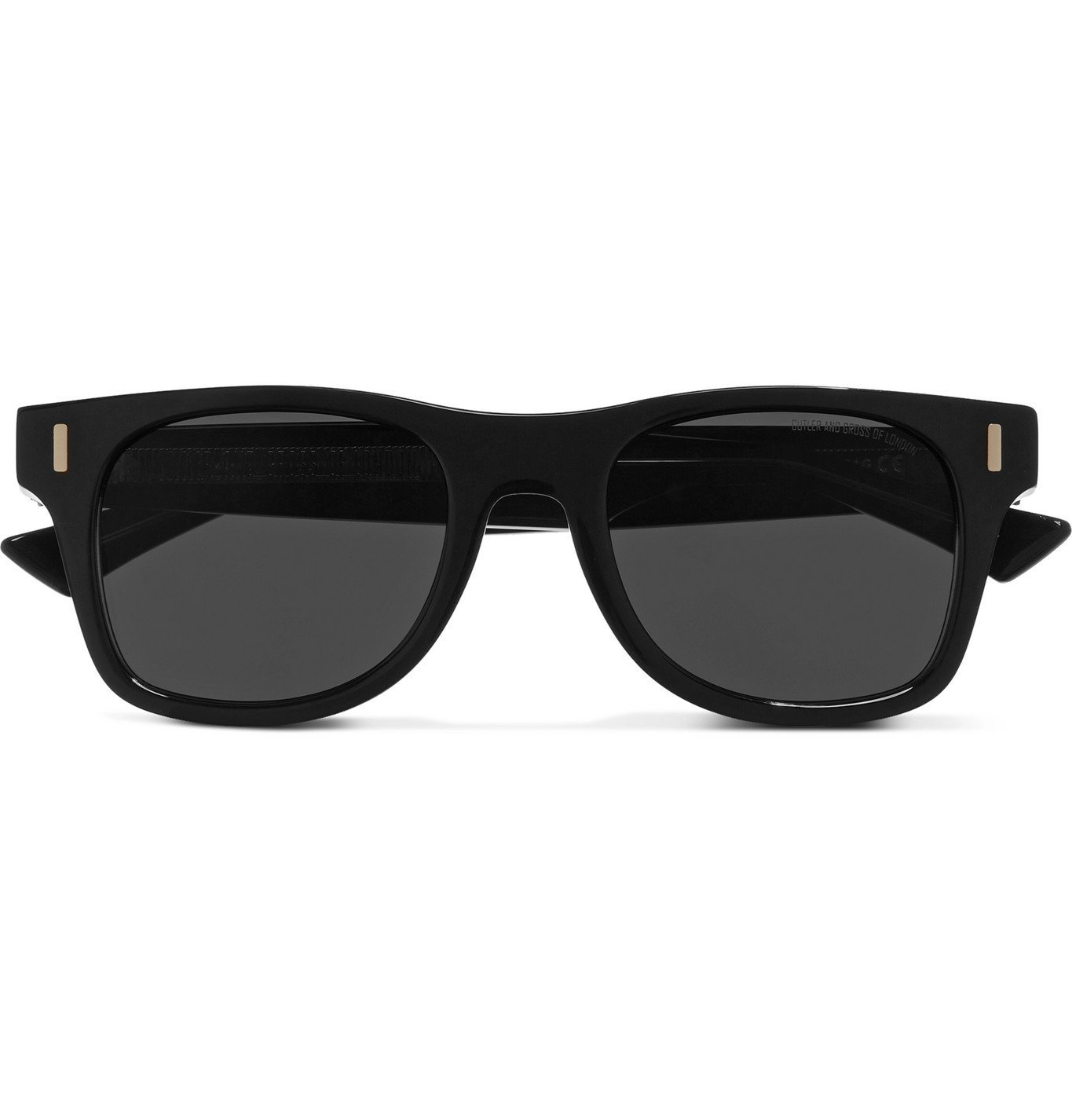 Photo: Cutler and Gross - Square-Frame Acetate Sunglasses - Beige