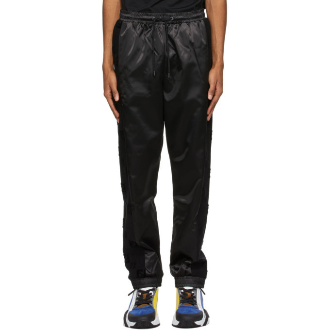 Photo: Fendi Black Forever Fendi Track Pants