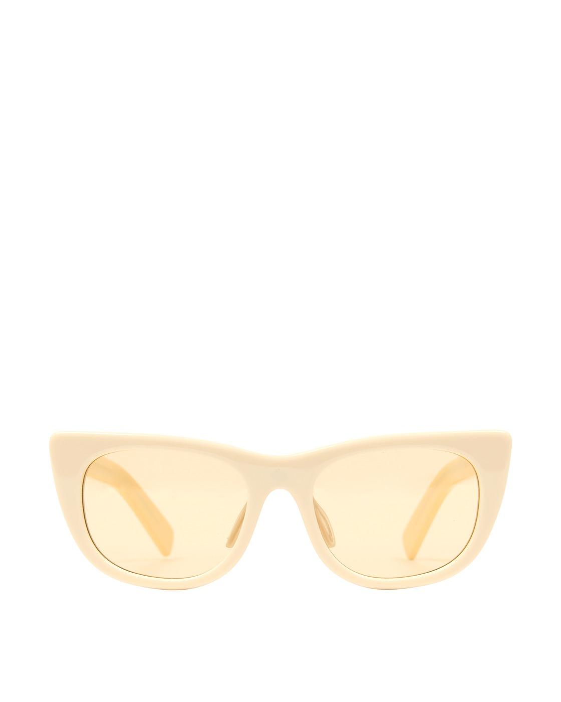 Photo: Brain Dead Natto Sunglasses White/Beige