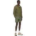 Stone Island Khaki Skin Touch Nylon-TC Hooded Zip Jacket