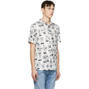 Ksubi White Naughty Boys Shirt