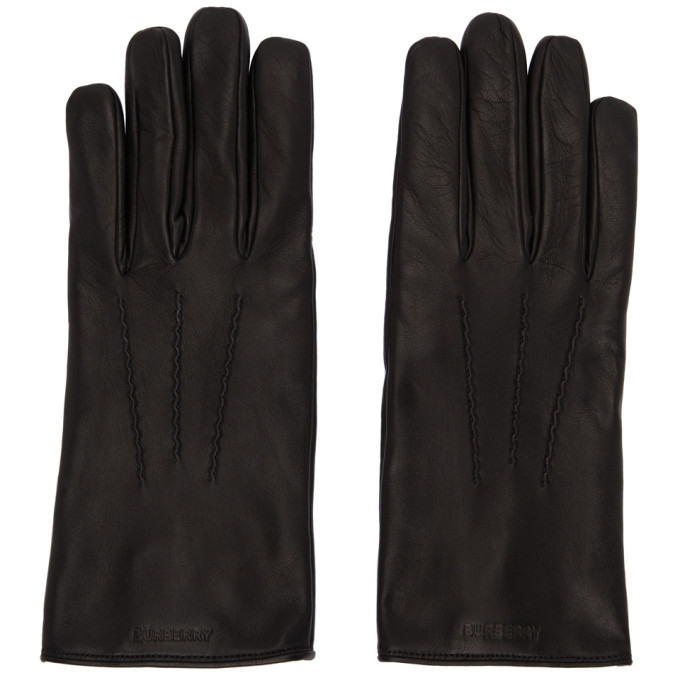 Photo: Burberry Black Thomas Gloves
