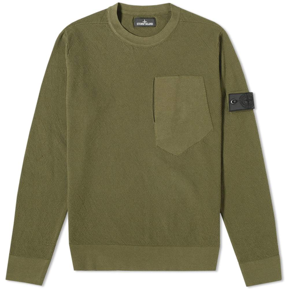 Photo: Stone Island Shadow Project Pure Cotton Crew Knit