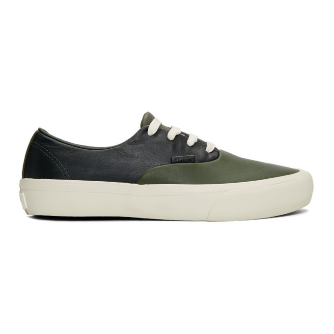 Photo: Vans Green Authentic ST LX Sneakers