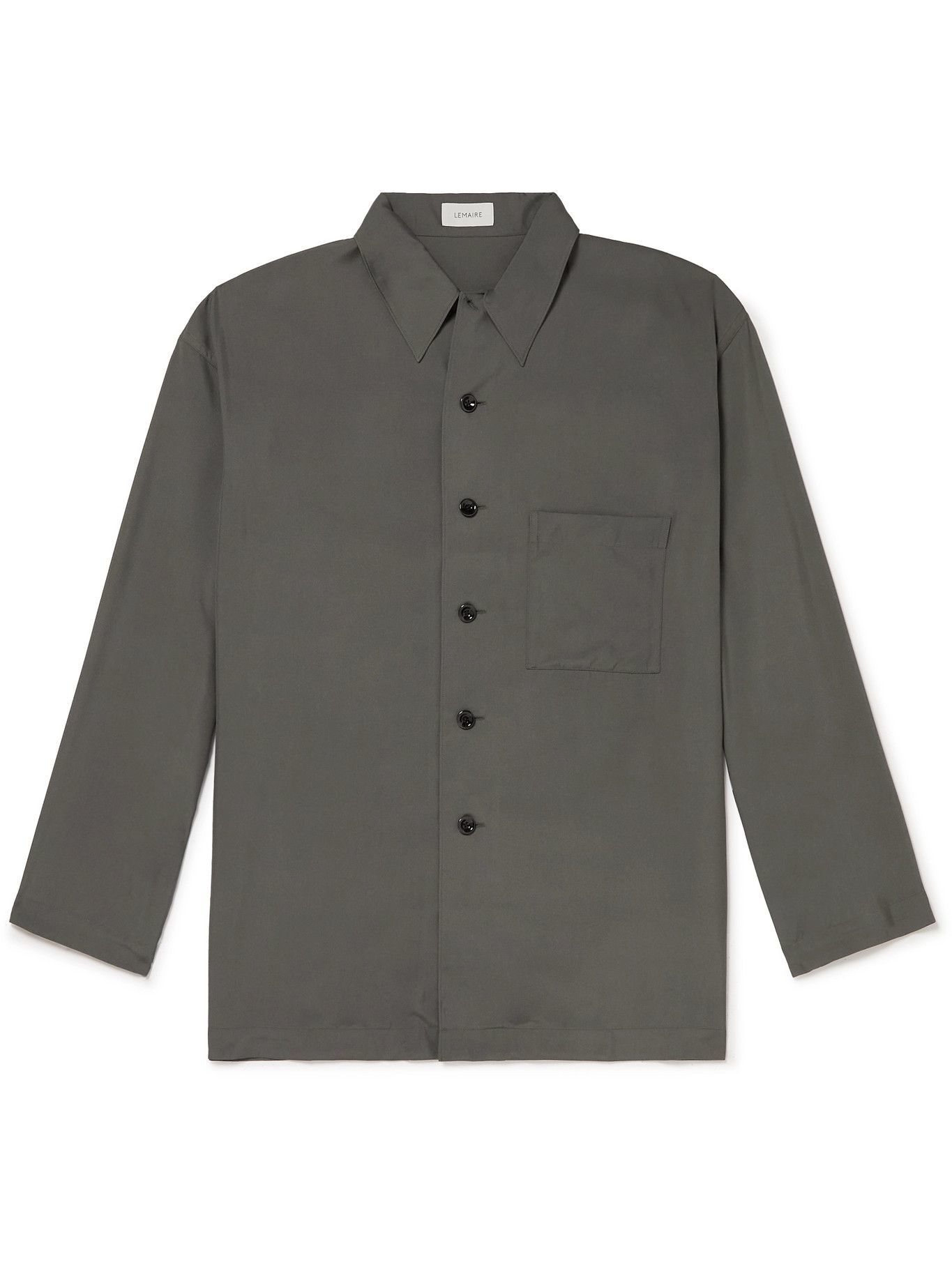 Photo: Lemaire - Silk Shirt - Gray