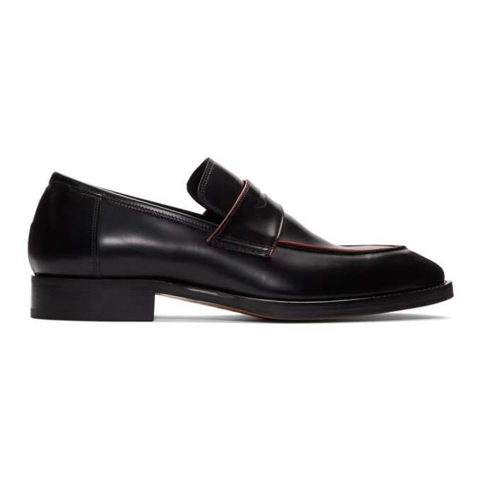 Photo: Paul Smith Black and Red Ridley Loafers