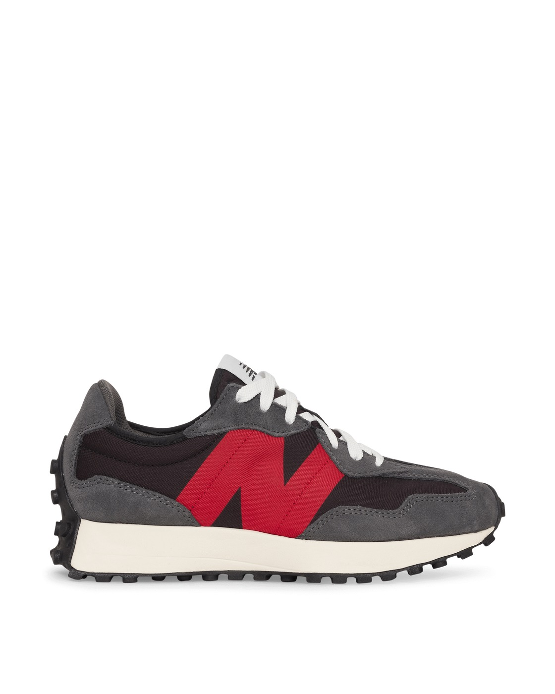 Photo: New Balance 327 Sneakers Magnet/Red
