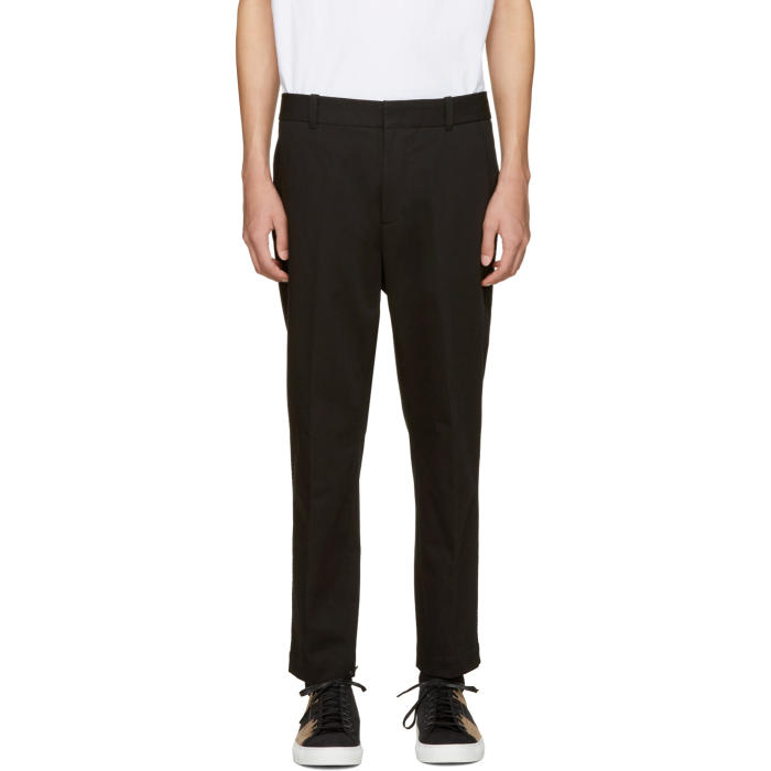3.1 Phillip Lim Black Saddle Trousers