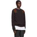 Raf Simons Purple Xanthophobic Sweater