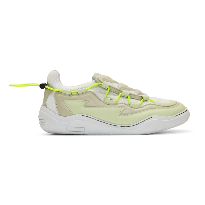 Photo: Lanvin White Top Diving Sneakers