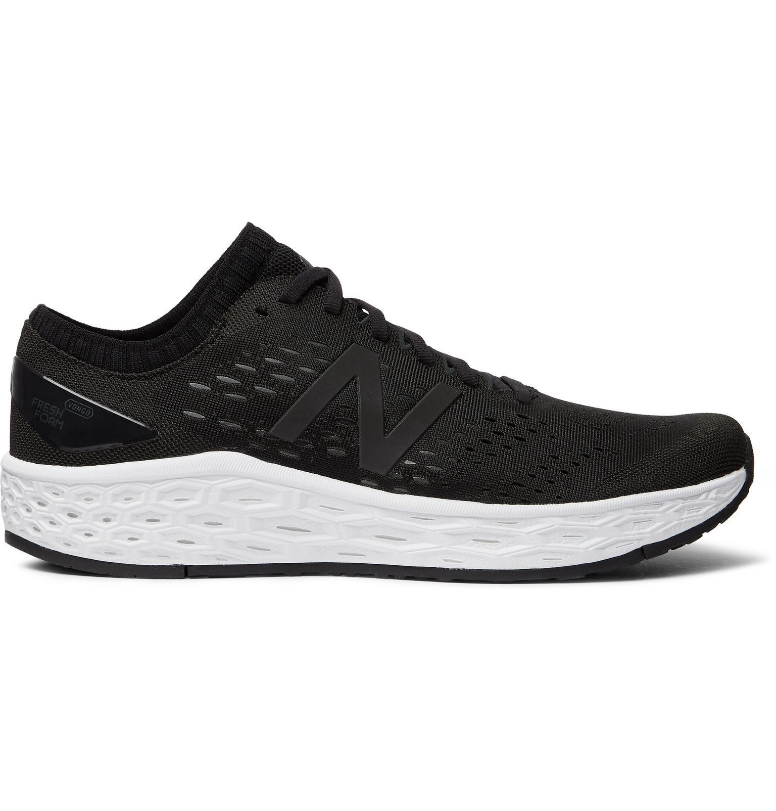 Photo: New Balance - Fresh Foam Vongo v4 Mesh Running Sneakers - Black