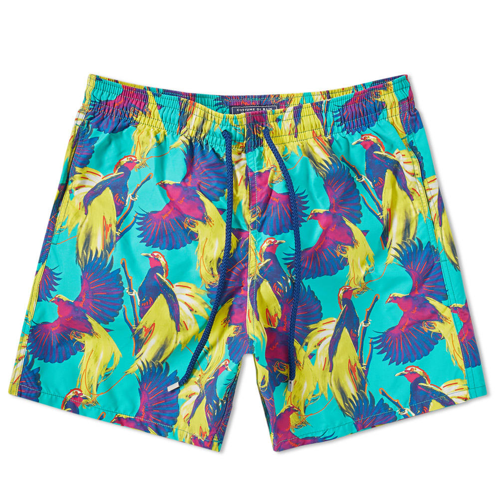 Photo: Vilebrequin Moorea Bird of Paradise Print Swim Short