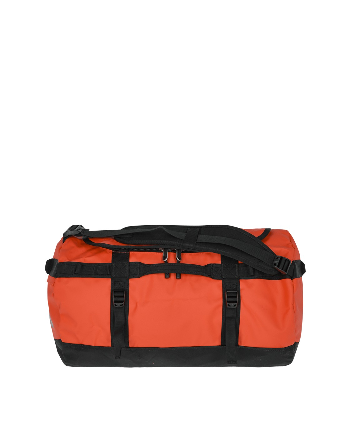 Photo: The North Face Small Base Camp Duffel Bag Flare/Tnf Black