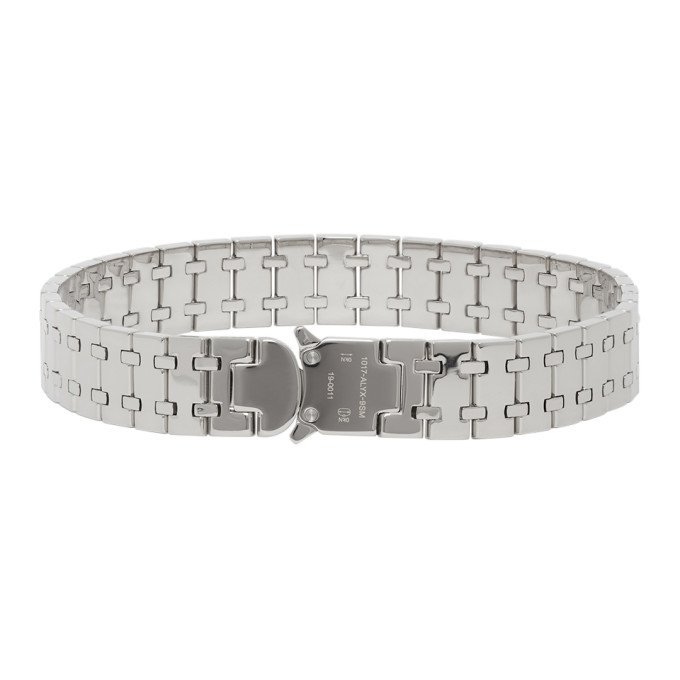 Photo: 1017 ALYX 9SM Silver Royal Oak Choker