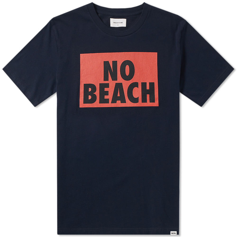 Wood Wood No Beach Tee