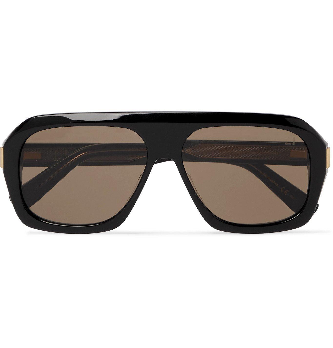 DUNHILL - D-Frame Acetate Sunglasses - Black