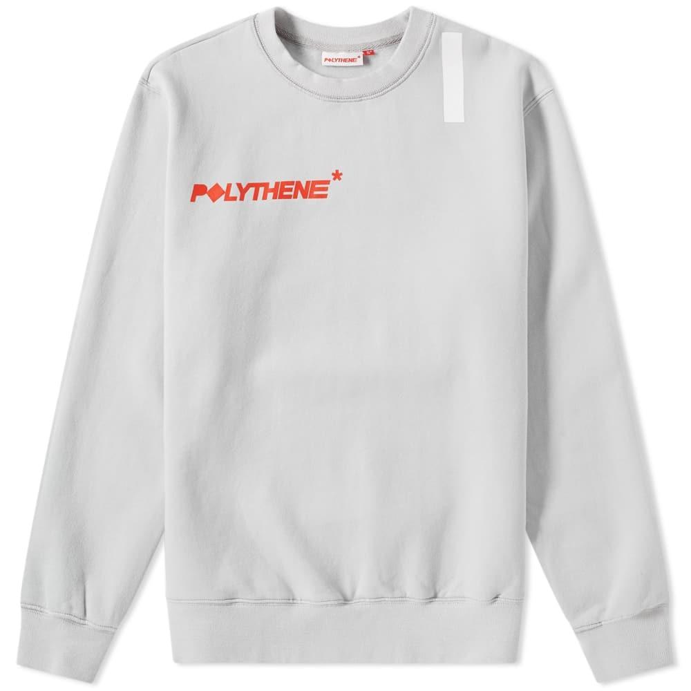 Photo: Polythene Optics Logo Sweat Grey