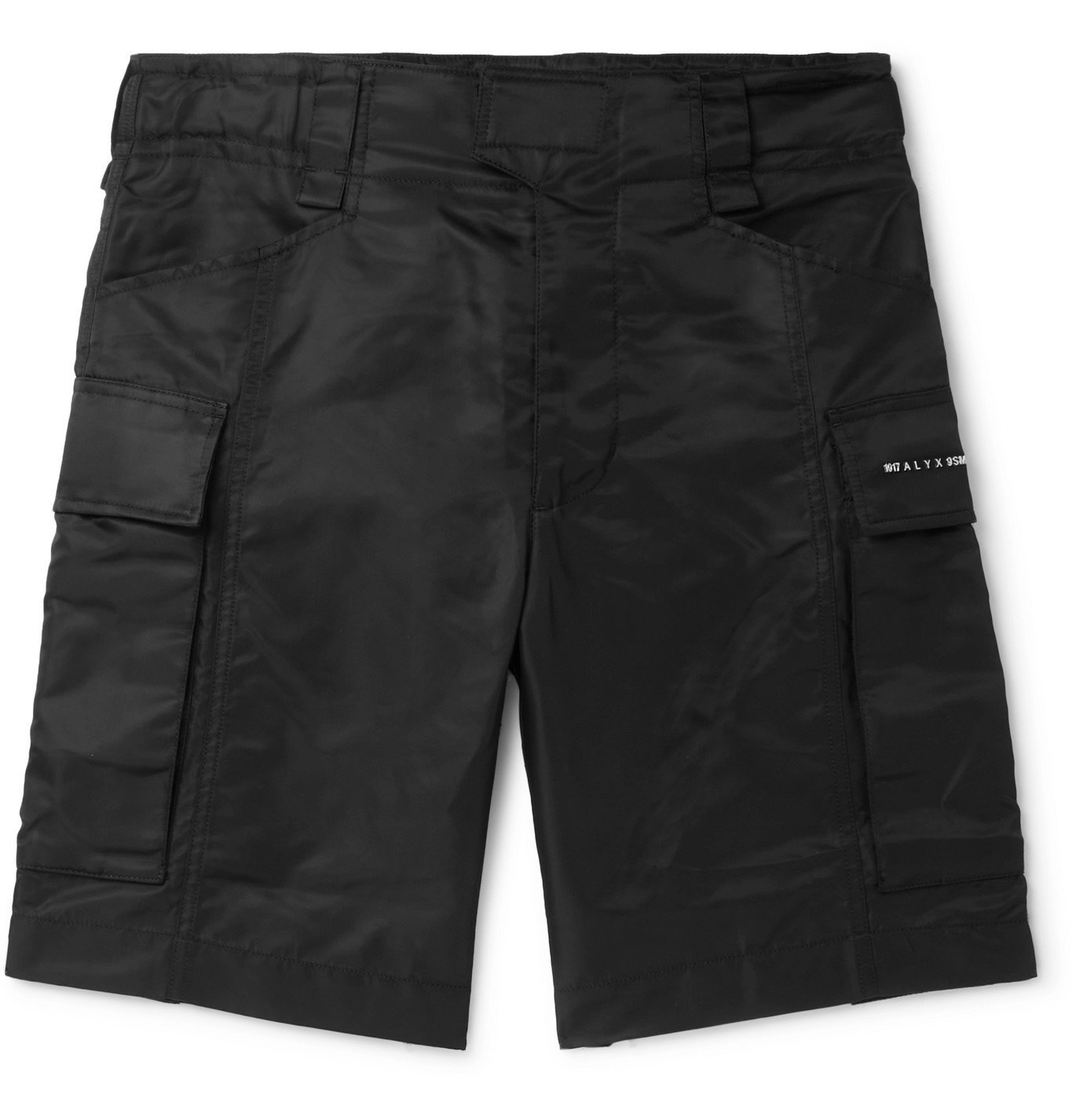 1017 ALYX 9SM - Recycled Nylon Cargo Shorts - Black