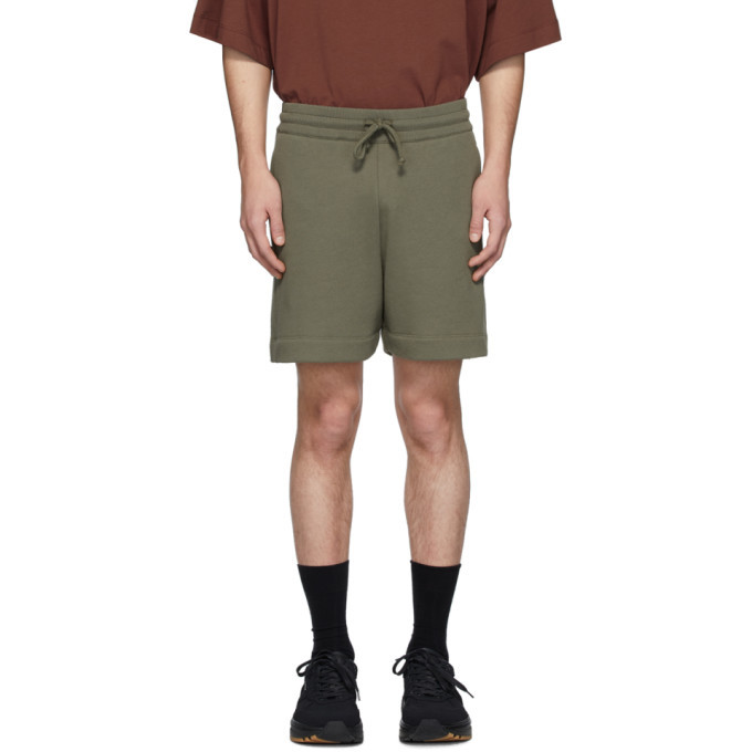 Photo: Dries Van Noten Khaki Hestala Lounge Shorts