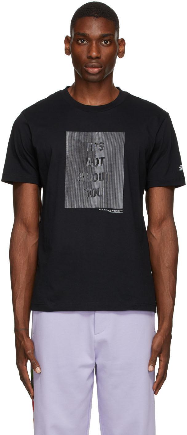 Photo: Helmut Lang Black Hank Willis Thomas Edition 'HWT' T-Shirt