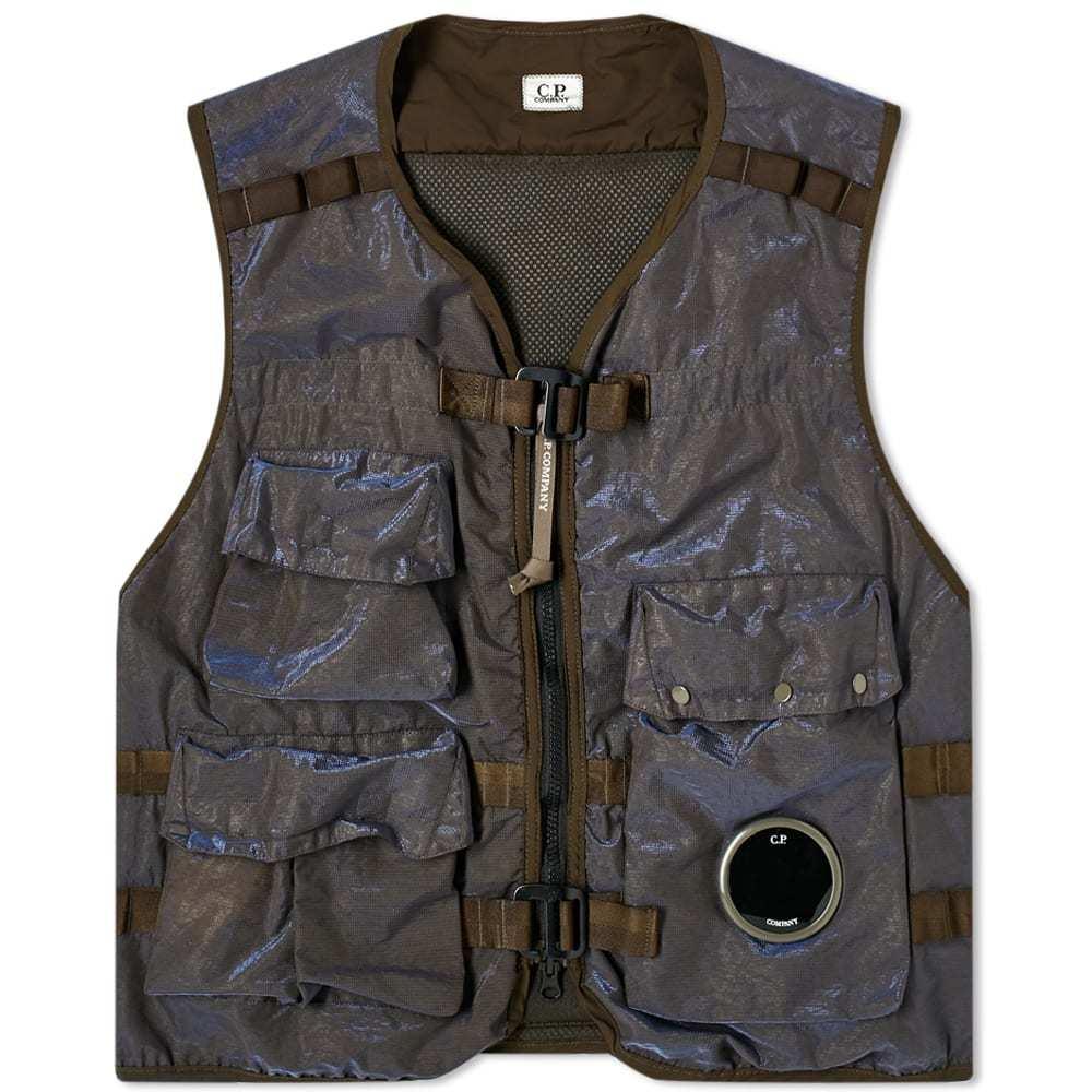 Photo: C.P. Company P.Ri.S.M Garment Dyed Vest