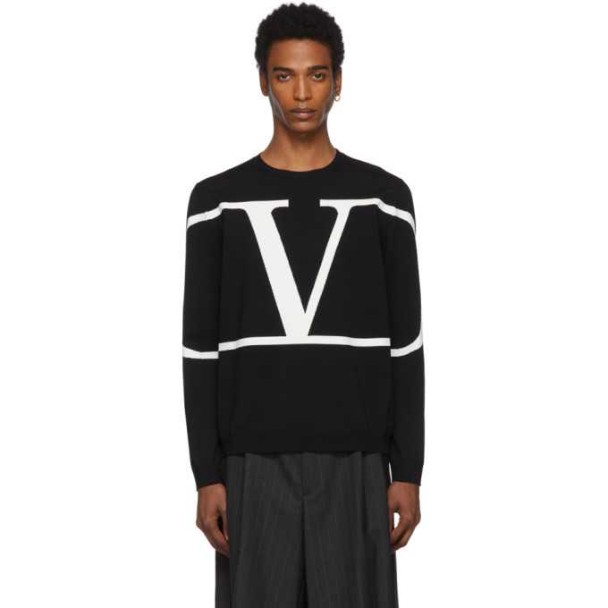 Photo: Valentino Black VLogo Sweater