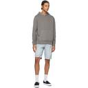 Ksubi Blue Wolf Shirt Check Shorts