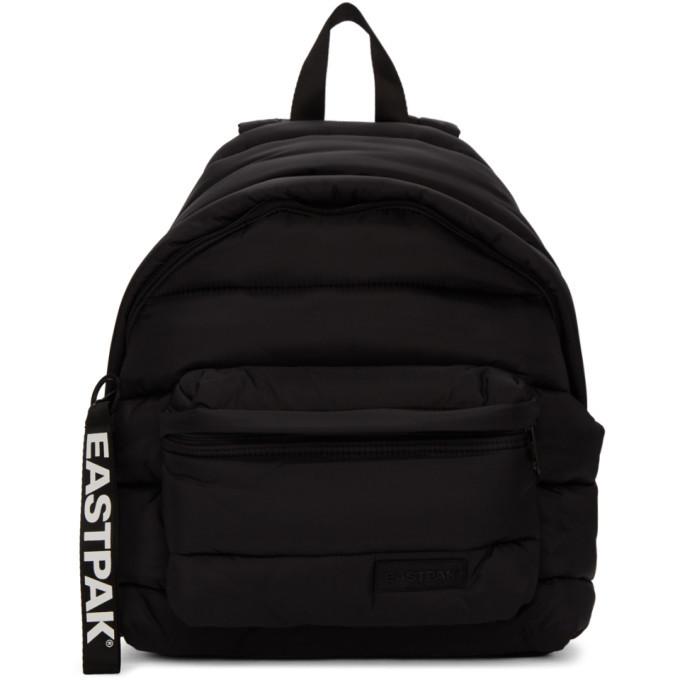 Photo: Eastpak Black Puffer Pakr Backpack