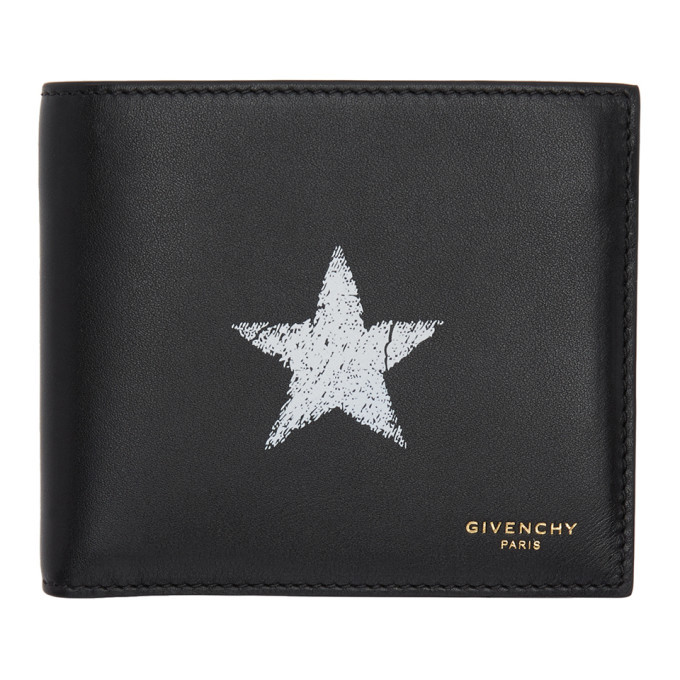 Photo: Givenchy Black Blurred Star Wallet