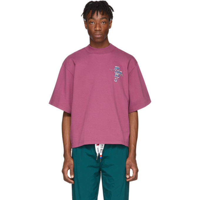 Photo: Reebok by Pyer Moss Purple Collection 3 Graphic T-Shirt