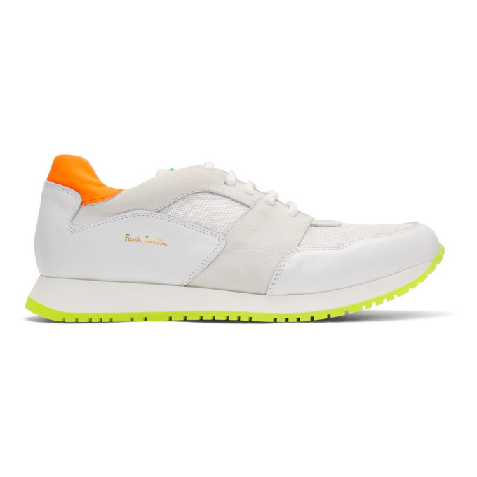 Photo: Paul Smith White Pioneer Sneakers