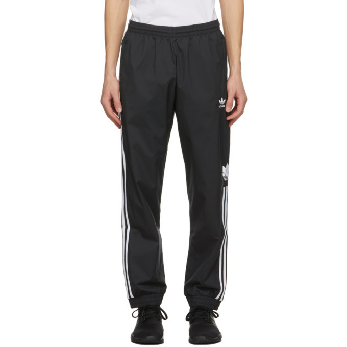 Photo: adidas Originals Black 3D Trefoil Track Pants