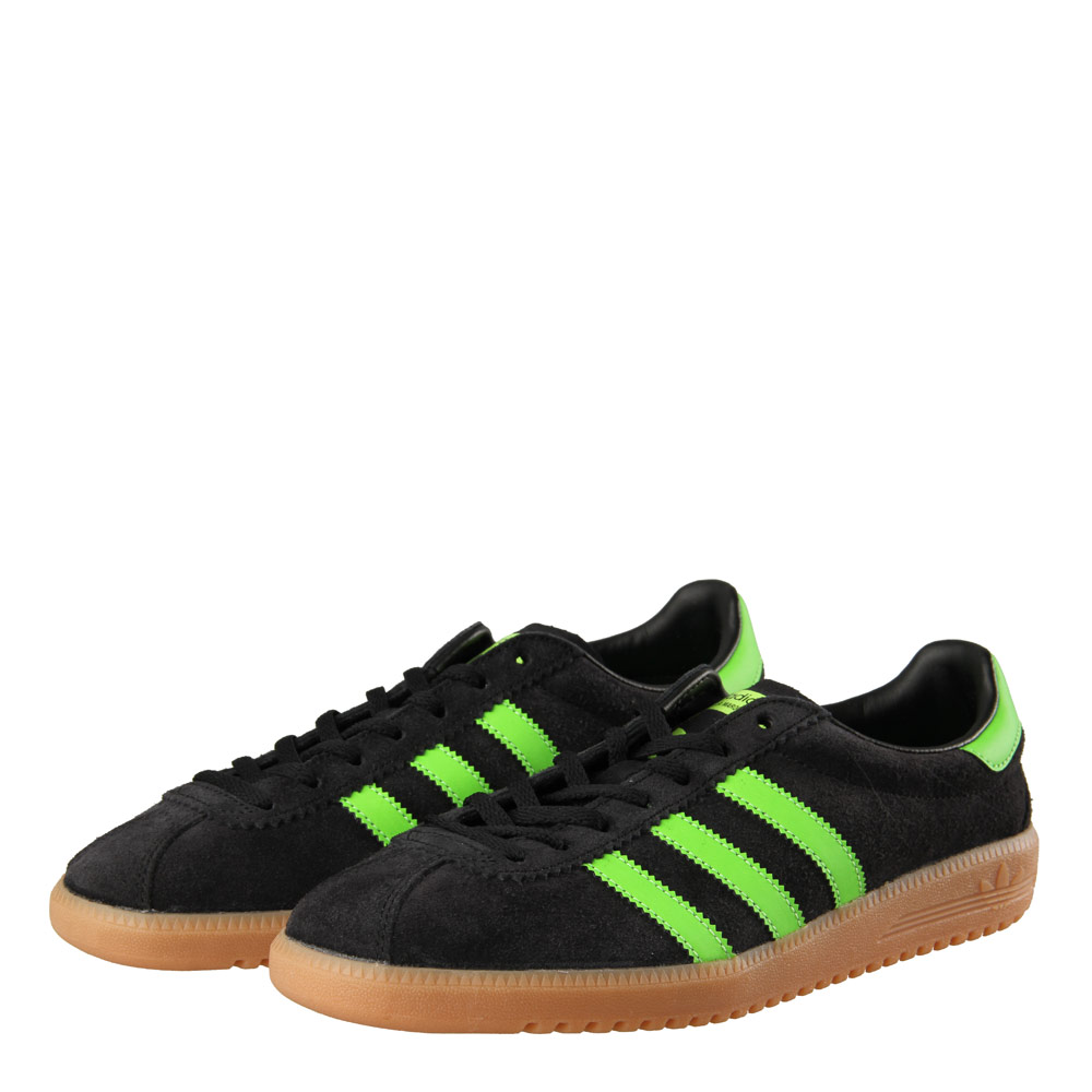 Bermuda Trainers - Black/Green adidas