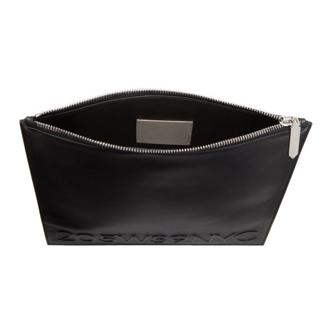 negro Calvin Klein 205w39nyc grande bolsa simple nqzYapwz