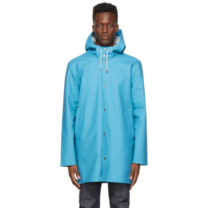 Photo: Stutterheim Blue Stockholm Raincoat