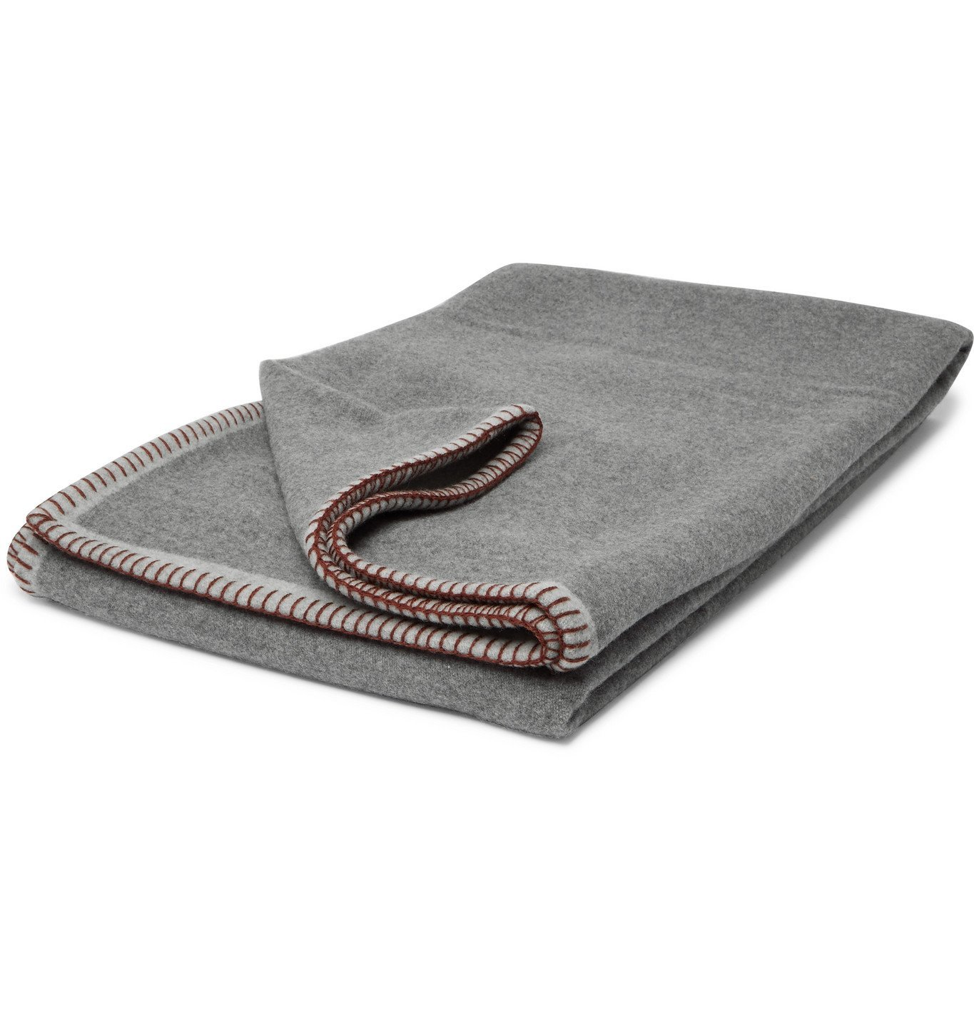 RD.LAB - Wool and Cashmere-Blend Blanket - Gray