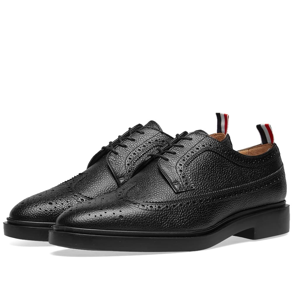 Photo: Thom Browne Classic Threaded Longwing Brogue