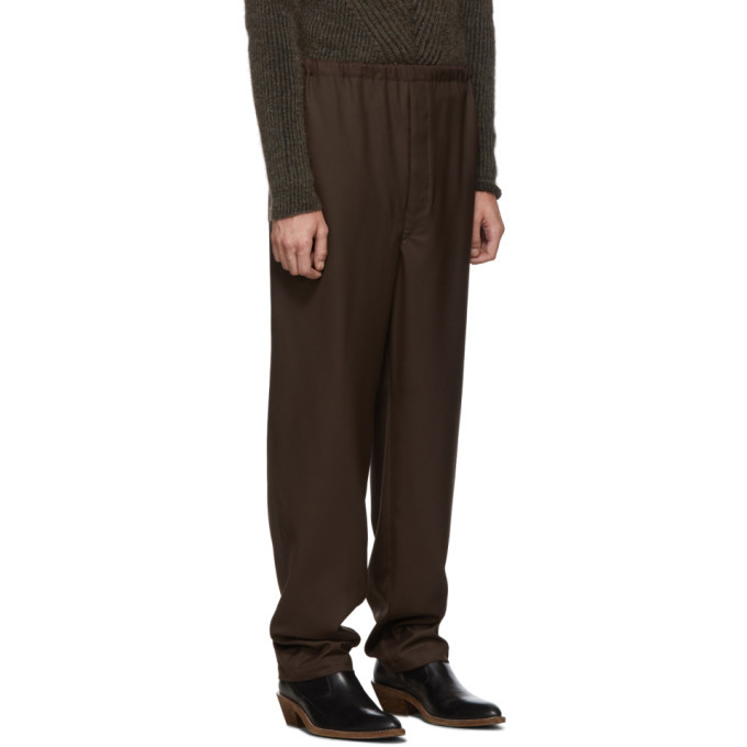 Lemaire Brown String Trousers