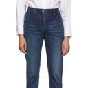 Sacai Blue Overlay Jeans