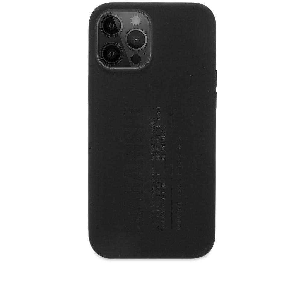 Photo: Maharishi Laser Etched Silicone Iphone 12 Pro Max Case