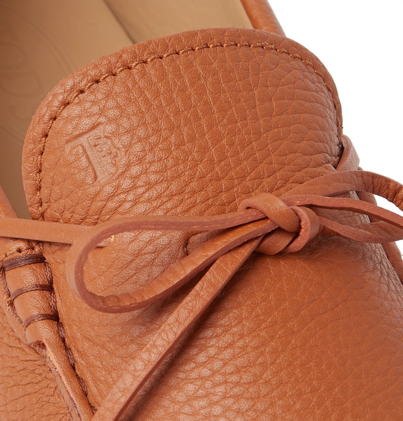 Tod's - Gommino Full-Grain Leather Driving Shoes - Brown