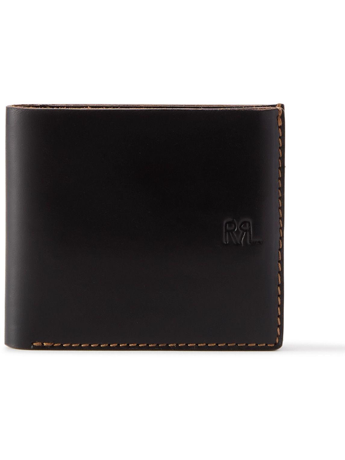 Photo: RRL - Logo-Debossed Leather Billfold Wallet