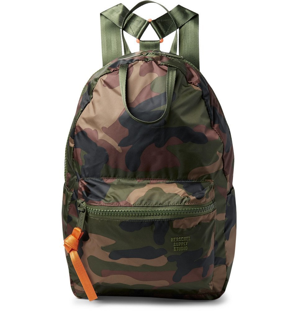 Photo: Herschel Supply Co - Studio City Pack HS6 Camouflage-Print Ripstop Backpack - Army green