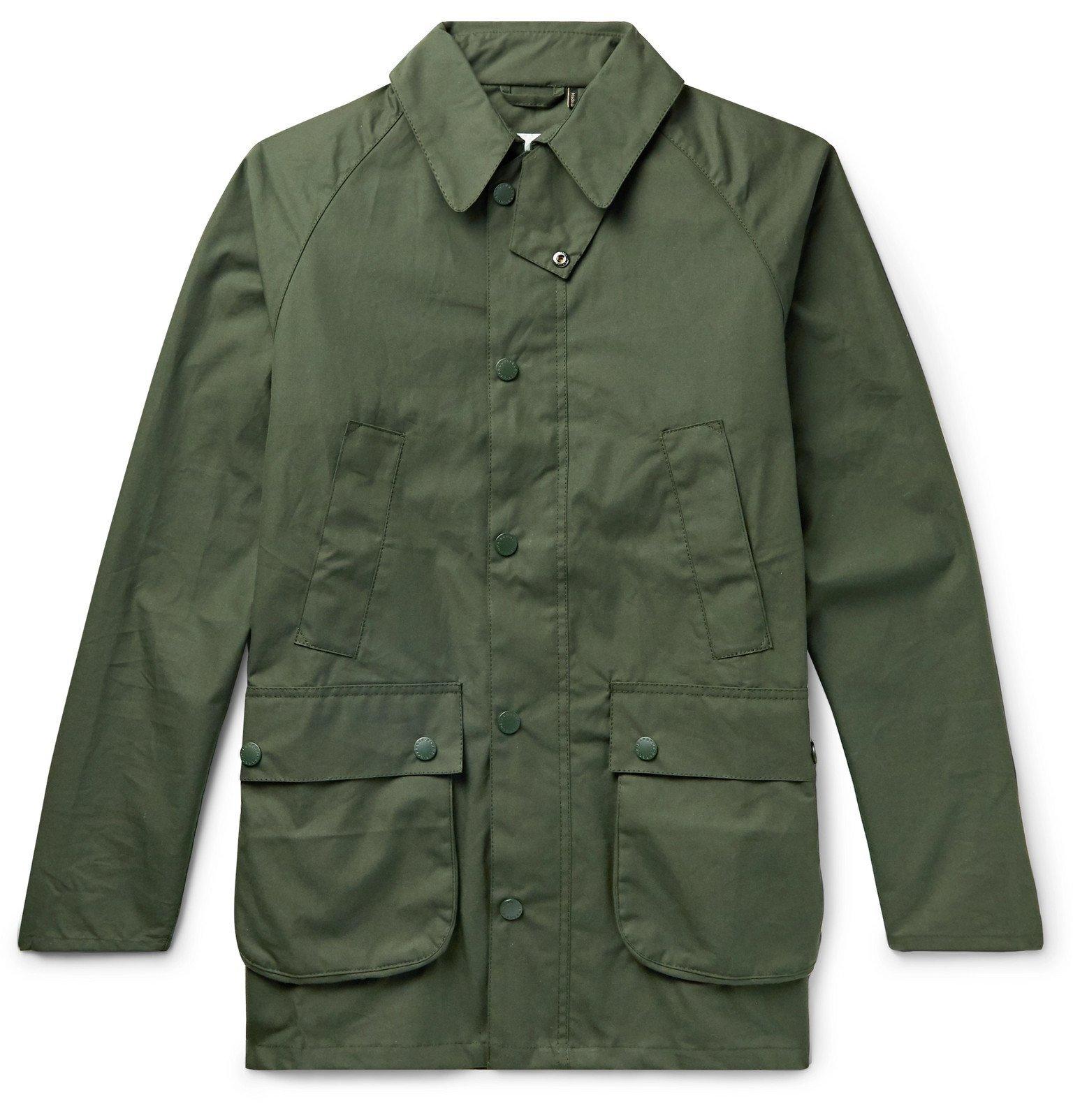 Photo: Barbour White Label - Bedale Cotton-Canvas Jacket - Green